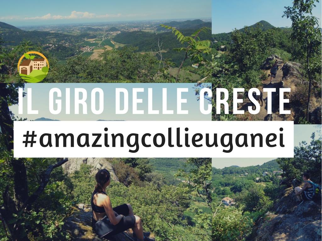 Il giro delle Creste / Rocca Pendice/ #amazingcolliEuganei