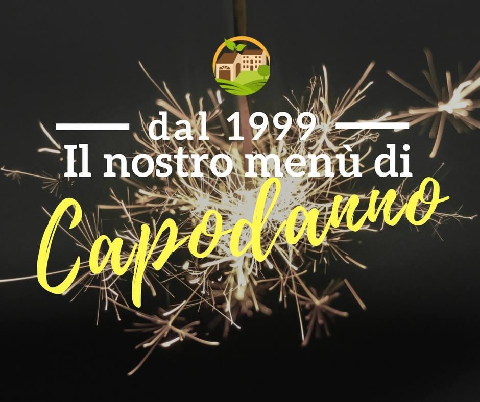 Dal 1999/ Il nostro menù di Capodanno