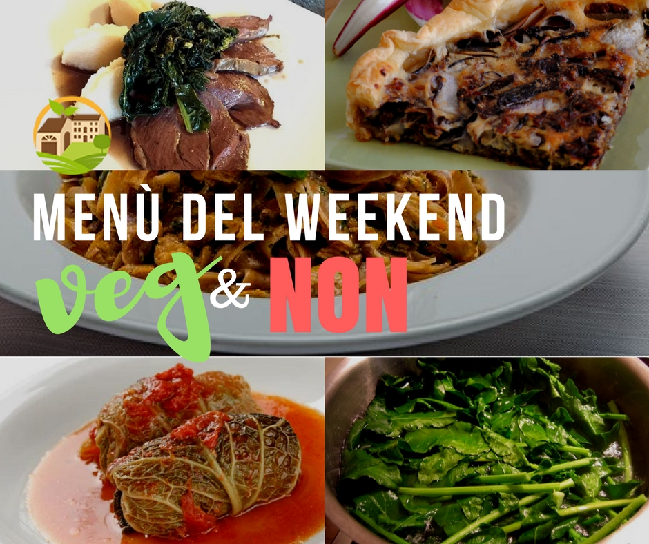 Menù Veg & Non / Weekend 2.02.18