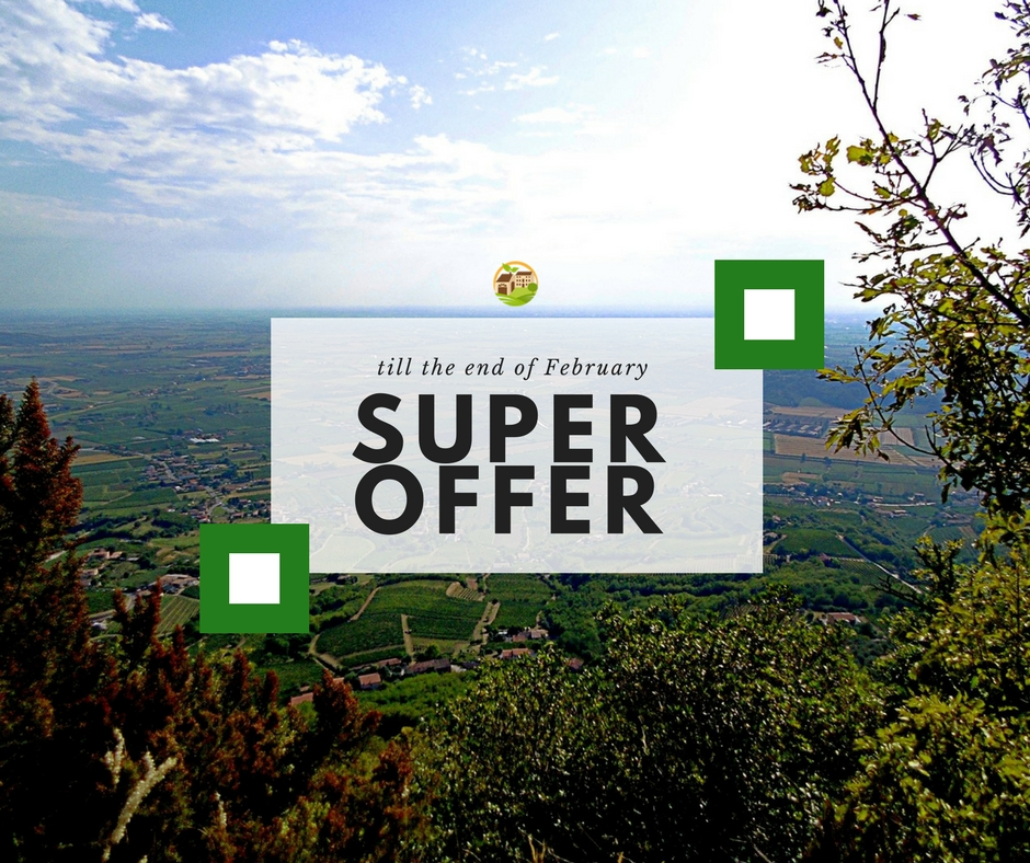 Super Offer – vaid until the end of February 2018