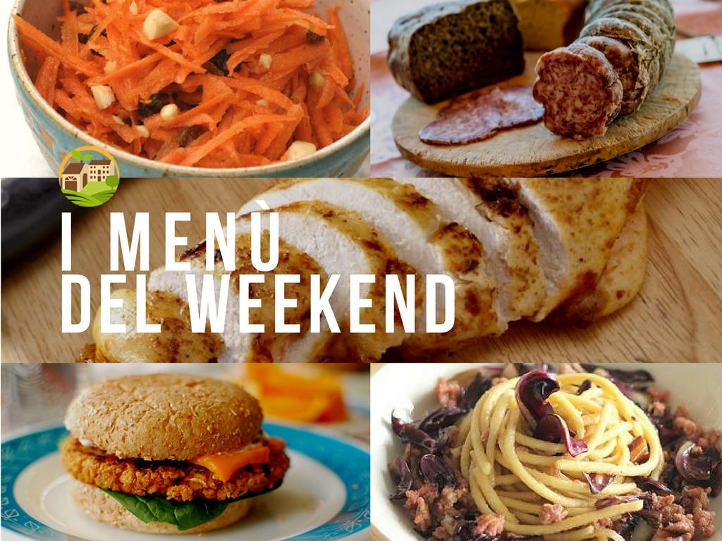 Menù del weekend 🥕/24.02.19