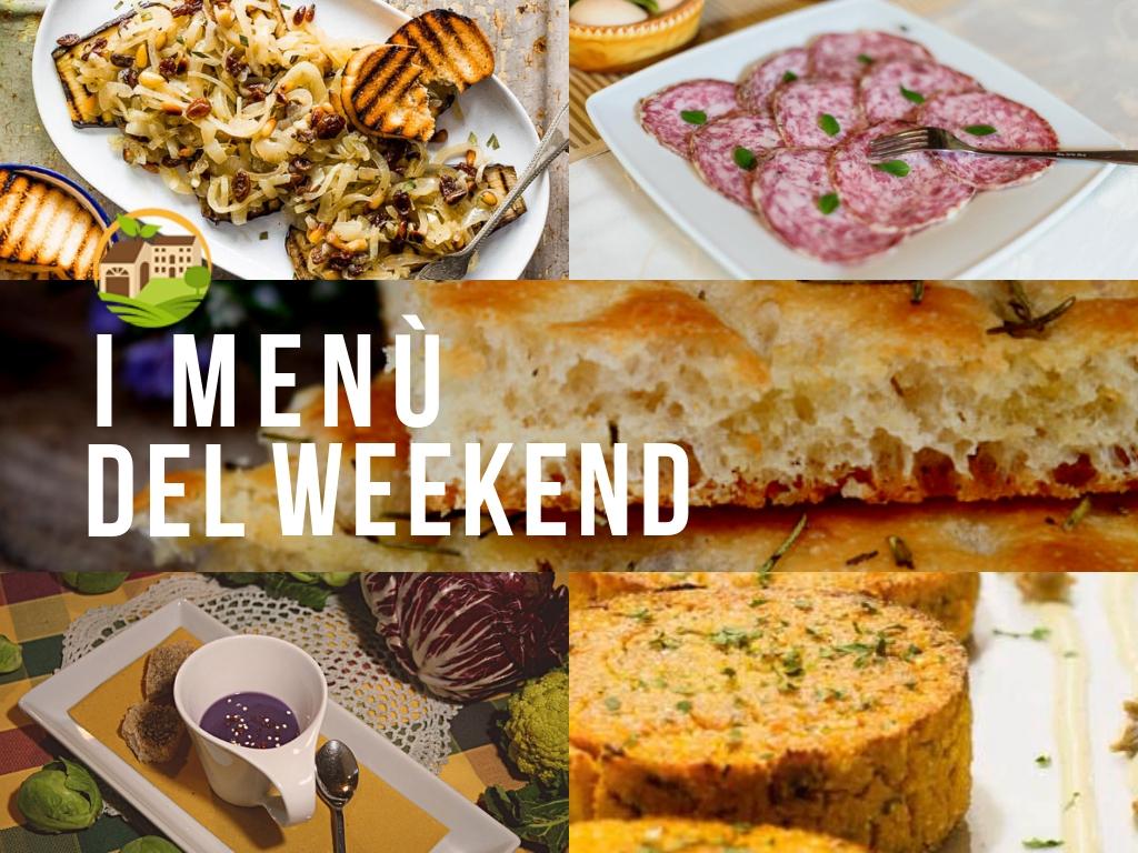 Menù del weekend / Giornata Fattoria Didattica Aperta/ 12.10.18 🐝