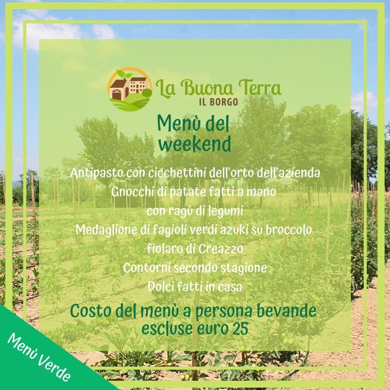 Menù Verde