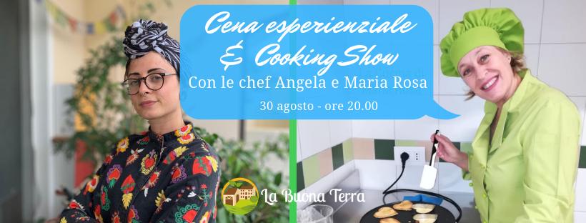 Cena Esperenziale e Cooking Show a La Buona Terra