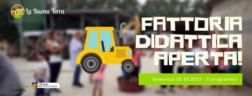 17° Edizione Fattorie Didattiche Aperte – 13 Ottobre 2019