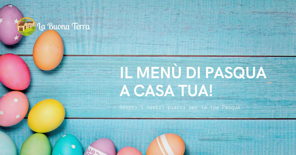 Menù di Pasqua a Domicilio