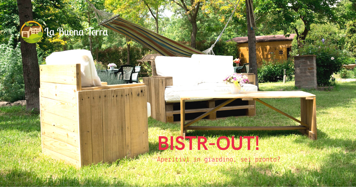 Bistr-Out, l'aperitivo open air del weekend!