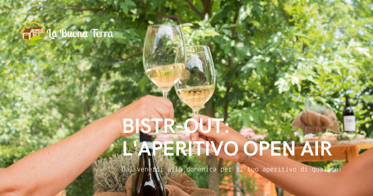 Bistr-Out, l'aperitivo open air del weekend!