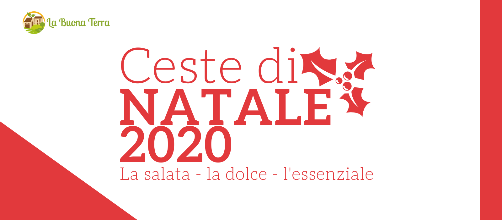 CESTE NATALE 2020 LANDING - BUONA TERRA